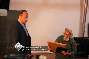 گزارش تصویری دیدار شهردار رشت با استاد دروی پدر شهید آذرخش دروی و از عکاسان پیشکسوت شهر رشت