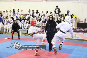 گزارش تصویری مسابقات قهرمانی بانوان کاراته آزاد استان گیلان
