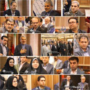 گزارش تصویری دیدار دکتر محمدباقر نوبخت معاون رئیس جمهور با مسئولین گیلان به مناسبت عید نوروز