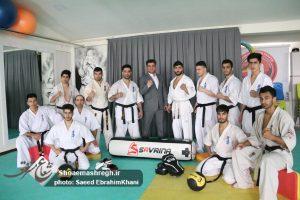 گزارش تصویری اولین تمرین سال ٩٧ اعضای منتخب کاراته آزاد استان گیلان برای شرکت در سوپر لیگ کاراته آزاد
