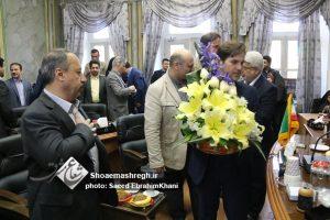 گزارش تصویری دیدار نوروزی شهردار، معاونین و مدیران مناطق با اعضای شورای شهر رشت