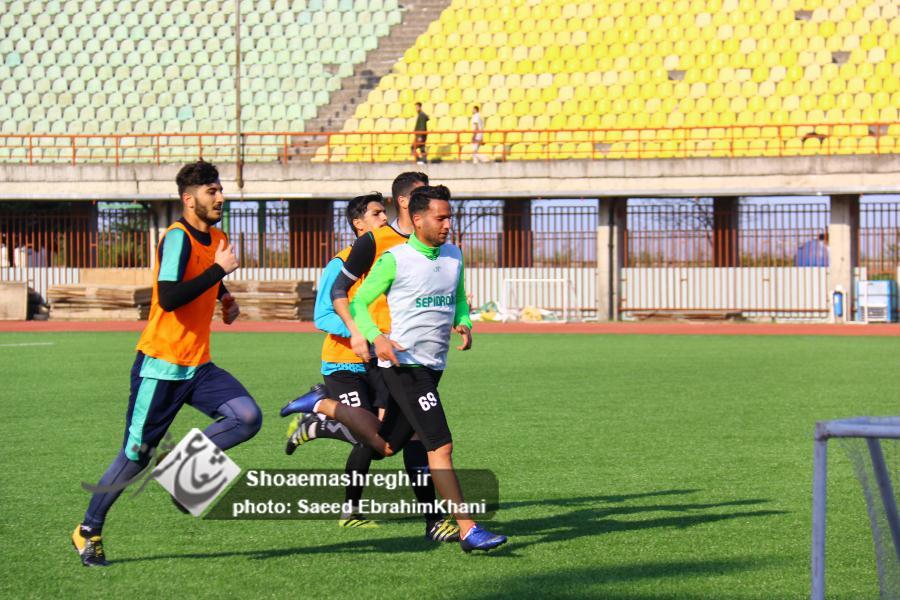 گزارش تصویری تمرین روز دوشنبه سپیدرود رشت در ورزشگاه سردارجنگل