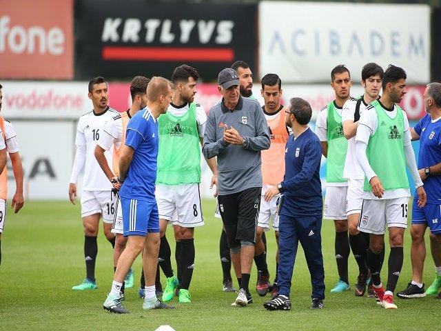 دیدار دوستانه تیم ملی فوتبال ایران – یونان لغو شد