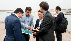 راه اندازی  کریدور چین، قزاقستان، انزلی با ورود نخستین محموله تجاری  به بندر کاسپین  با حضور مقامات دو کشور