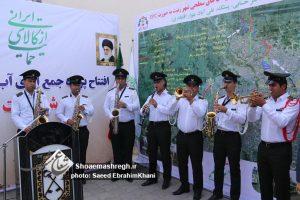 گزارش تصویری افتتاح پروژه جمع آوری آبهای سطحی شهر رشت + متن خبر