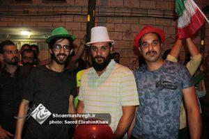 گزارش تصویری ویژه از شادی و جشن مردم رشت پس از پیروزی ایران در اولین بازی جام جهانی
