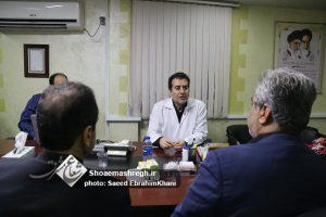 گزارش تصویری حضور استاندار گیلان در اداره کل انتقال خون-شب قدر