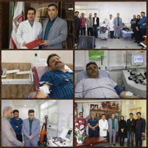 دکتر رفیعی: اخلاق پهلوانی و رسالت همراهی با مردم، ورزشکاران را به اهدا خون سوق می دهد