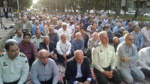 تصاویر نماز عید فطر مسجد امام رضا گلسار رشت