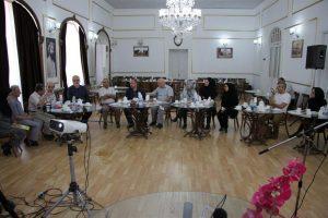 برگزاری یکی از کارگروه های شش گانه اتاق شکوفایی با حضور مسعود نصرتی شهردار رشت و اعضای شورای اسلامی شهر رشت