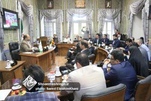 گزارش تصویری جلسه مشترک کمیسیون عمران و توسعه شهری و کمیسیون بهداشت شورای شهر رشت