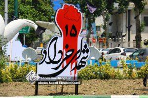 گزارش تصویری از اقدامات سازمان سیما،منظر و فضای سبز شهری شهرداری رشت در ایام رمضان،ارتحال امام و۱۵ خرداد