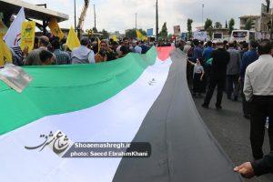گزارش تصویری حضور مردم و مسئولین در راهپیمایی پرشکوه روز قدس-رشت