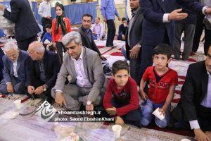 """گزارش تصویری ضیافت افطاری و اطعام ایتام  به همت""""کمیته امداد امام خمینی(ره)""""در مصلی رشت"""