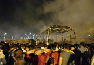 آخرین اخبار از تصادف اتوبوس با تانکر نفت در سنندج| ۱۱ نفر کشته شدند/ عدم شناسایی قربانیان تاکنون/ اعلام علت وقوع حادثه