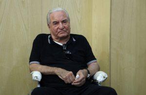 پیکر عباس امیرانتظام به خاک سپرده شد