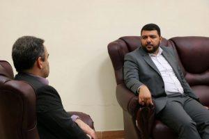 دیدار مدیر کل پدافند غیر عامل استانداری گیلان باسرپرست فرمانداری شهرستان لاهیجان
