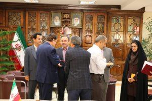 آئین تجلیل از بازنشستگان فرمانداری شهرستان لاهیجان برگزار شد