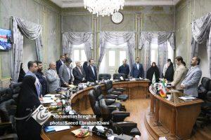 گزارش تصویری چهل و هشتمین جلسه علنی شورای شهر رشت با حضور شهردار