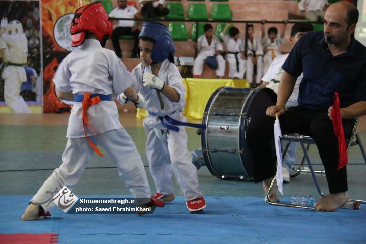 گزارش تصویری  اولین دوره  مسابقات کاراته  کیوکوشین KWF به میزبانی لاهیجان