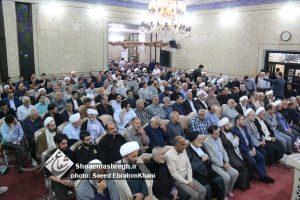 گزارش تصویری مراسم سومین روز درگذشت همسر حجت الاسلام حجازی-مسجد گلسار