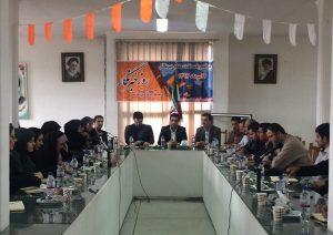 مراسم تجلیل از خبرنگاران و فعالان عرصه خبر در رضوانشهر