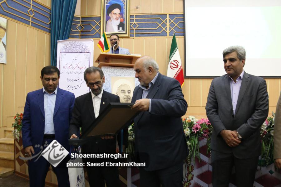 گزارش تصویری مراسم تکریم و معارفه مدیرکل تعاون، کار و رفاه اجتماعی استان گیلان