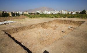 تپه باستانی در گیلان زمین فوتبال شد