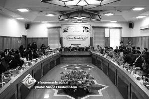 گزارش تصویری مراسم تجلیل از خبرنگاران در فرمانداری رشت
