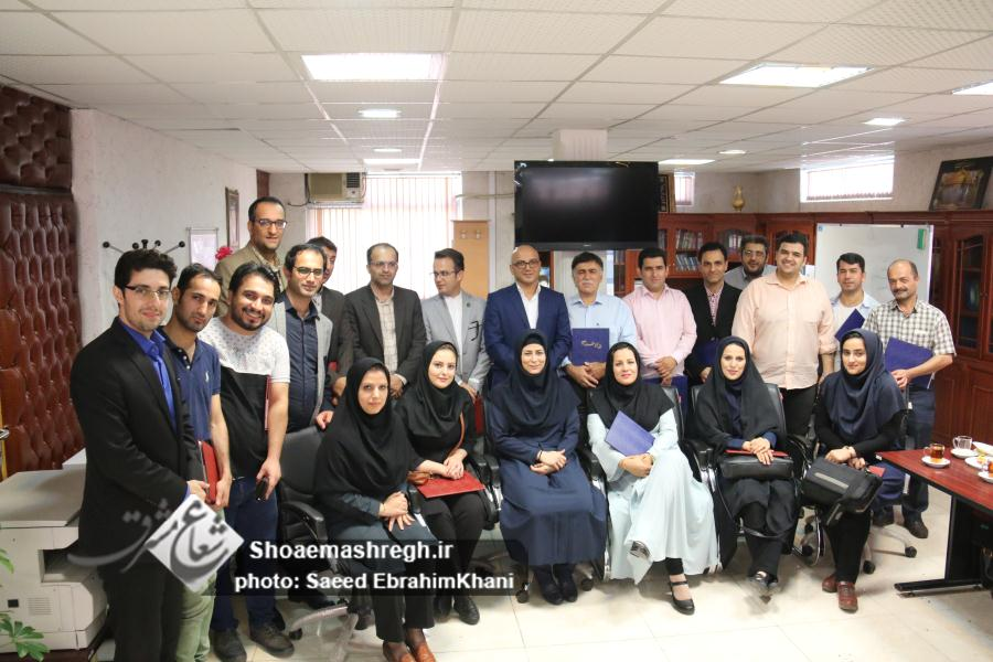 گزارش تصویری نشست خبری مدیرکل ورزش و جوانان گیلان با اصحاب رسانه به مناسبت روز خبرنگار