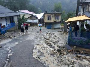 خسارت سنگین سیل به زیرساختهای آب، برق و گاز در تالش/ سیل شش خانوار تالش را بیخانمان کرد