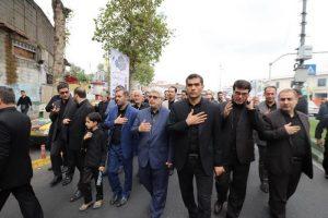 گزارش تصویری از هیئت عزاداری کارکنان شهرداری و شورای اسلامی شهر