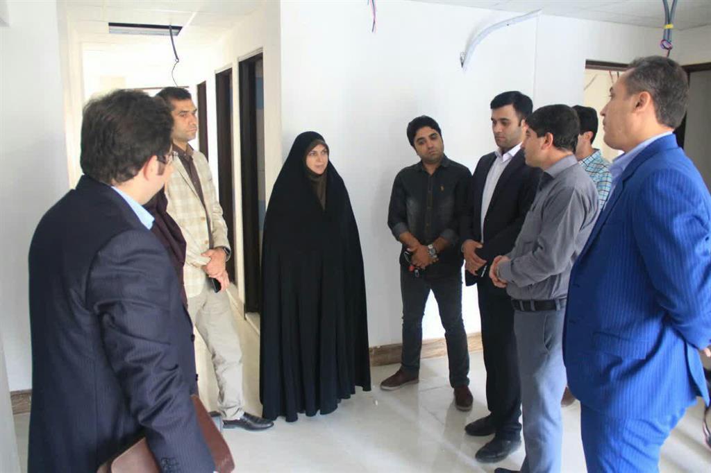 بازدید سرپرست شهرداری رشت و رئیس کمیسیون بهداشت شورای اسلامی رشت از روند احداث درمانگاه تخصصی بیماران هموفیلی