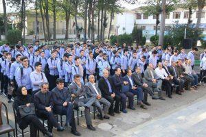 زنگ مهر و مقاومت در دبیرستان شهید بهشتی رشت نواخته شد