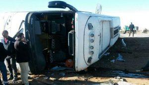 واژگونی مرگبار یک اتوبوس دیگر!