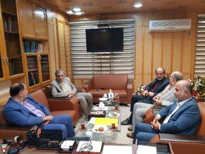 دیدار مدیرکل بنیاد شهید و امور ایثارگران استان گیلان با فرماندار رشت
