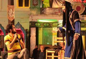 اجرای نمایش«من کجا باران کجا» در یازدهمین هفته از پروژه تئاتر خیابانی رشت