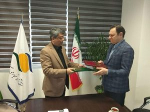 امضاء تفاهم نامه همکاری بین هیات والیبال استان گیلان و منطقه آزاد انزلی
