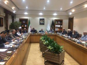 گزارش تصویری جلسه مجمع نمایندگان گیلان با دکتر نوبخت در خصوص خسارت سیل اخیر در تهران
