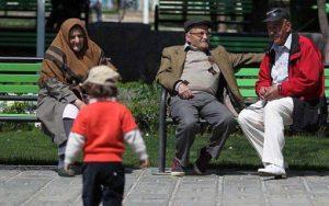 رشد سالمندی از رشد کل جمعیت بیشتر است