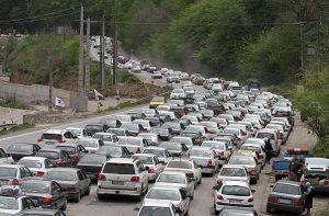 افزون بر ۱۹۵ هزار دستگاه خودرو وارد گیلان شد