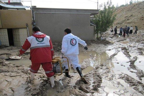 امدادرسانی به بیش از ۵ هزار نفر در ۷ استان سیل زده / یک نفر فوت کرد