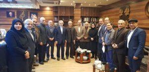 دیدار اعضای انجمن اسلامی مدرسین دانشگاه های استان گیلان با معاون رییس جمهور