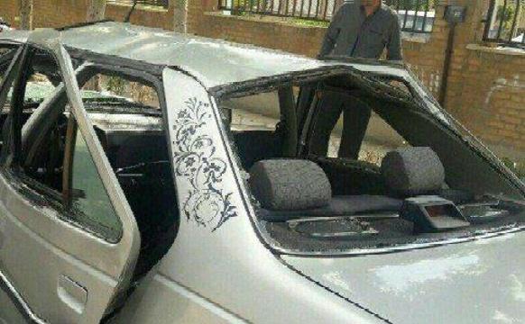انفجار بمب در داخل خودرویی در چابهار