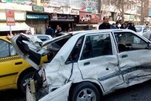 رشت با بیشترین تصادف درون شهری