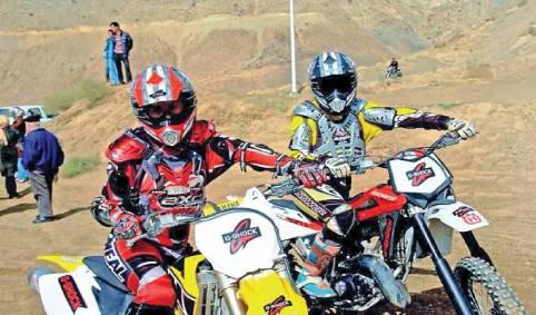 دختر قهرمان موتورسواری گیلان در آرزوی فراهم شدن امکانات تمرین