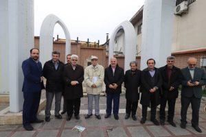 ادای احترام به شهدای مشروطه گیلان که توسط روسیه اعدام شدند