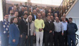تکریم از بازنشستگان شهرداری لنگرود