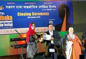 کسب جایزه «بازگشت» فیلمساز گیلانی، این بار در جشنواره بینالمللی داکا