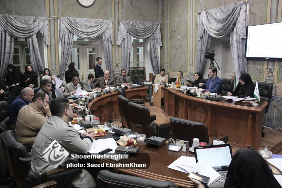 گزارش تصویری جلسه ۷۴ شورای شهر رشت